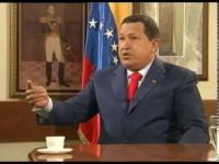 A Solas con Hugo Chávez, presidente de Venezuela