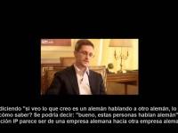 Entrevista a Snowden (26/1/2014)