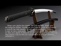 La espada del samurai (Maravillas Modernas)